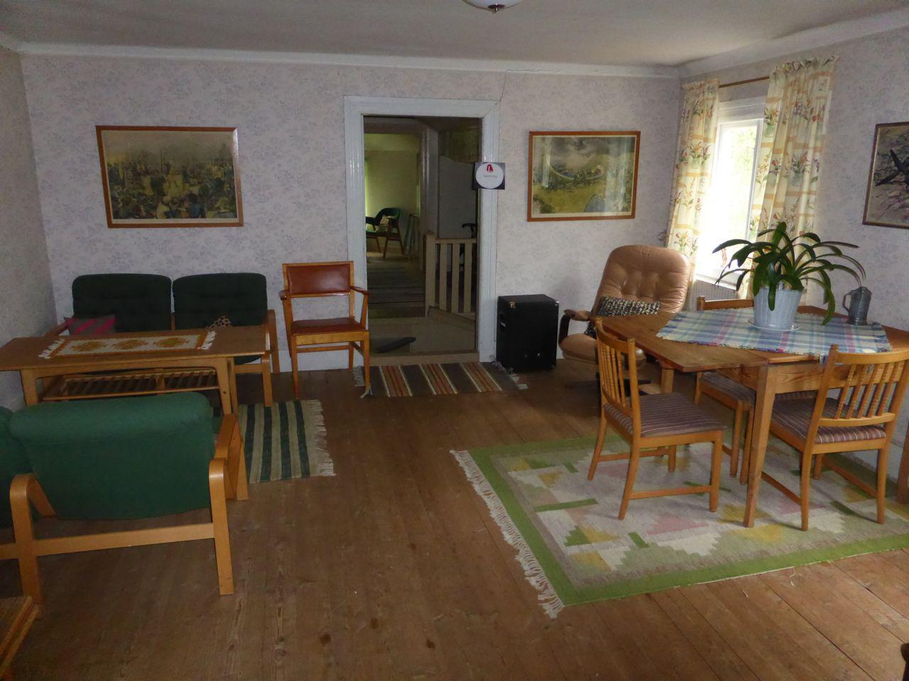 Norra rummet på övervåningen